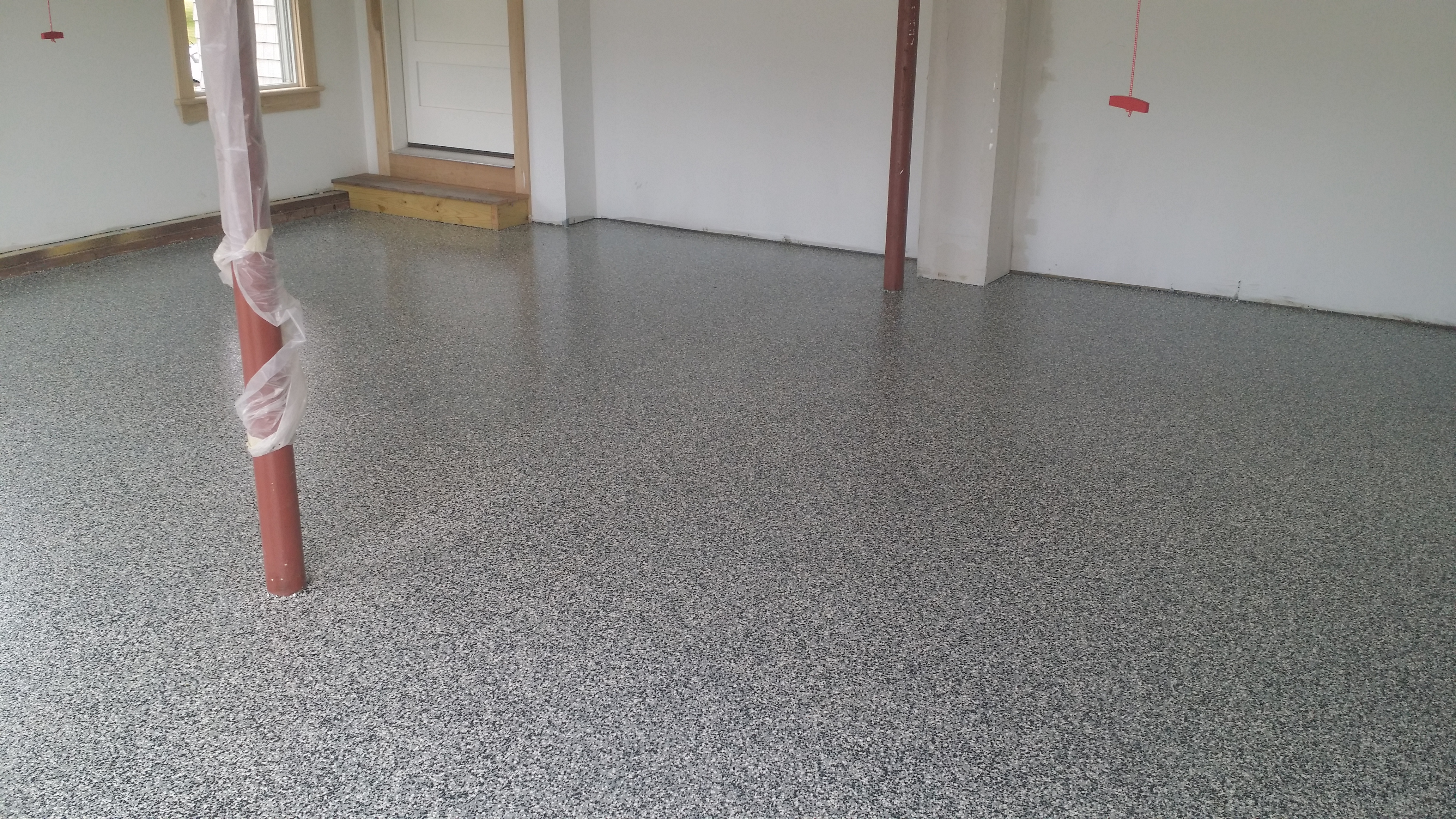 dfw fort professional flooring floor garage dallas prevent peeling no diy versus epoxy floors and worth